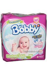 Tấm Lót Bobby siêu thấm sơ sinh Newborn số1 88 miếng