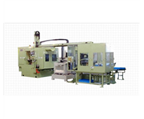 Horibe - Horizontal NC Lathe-Twin-Spindle Turning Center : Series