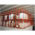 Industrial iron shelf racking TP.HCM