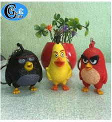 Móc khóa angry birds  biết nói và có đèn phát sang
