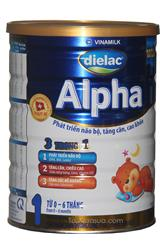 Sữa Bột Vinamilk Dielac Alpha số1 lon 900g