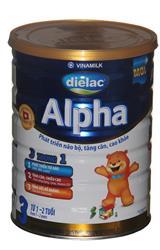Sữa bột Vinamilk Dielac Alpha số3 1.5kg