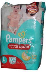 Tả quần Pampers sizeL 54 miếng