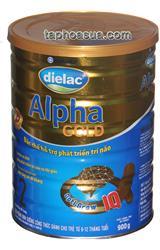 Sữa bột Vinamilk Dielac Alpha Gold số2 900g