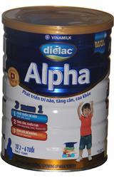 Sữa bột Vinamilk Dielac Alpha số4 hộp thiết  900g