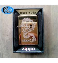 Zippo USA 2011 vàng rồng