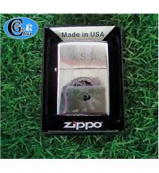 Zippo USA 2017 khắc logo chữ...