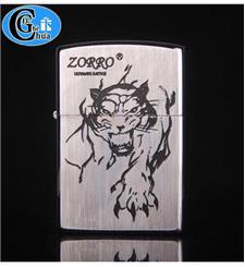 Zippo Zorro hình con cọp (hãng Zorro)