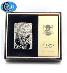 Zippo Zorro hình hoa văn đẹp...
